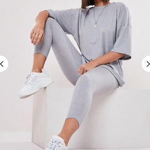 Missguided Petite Tee and Legging Coord